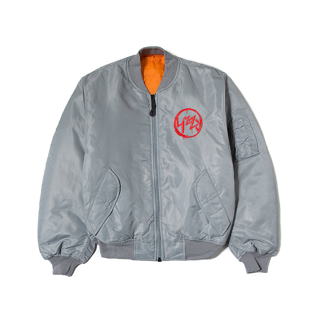 Lizzy Anarchy Bomber - Grey