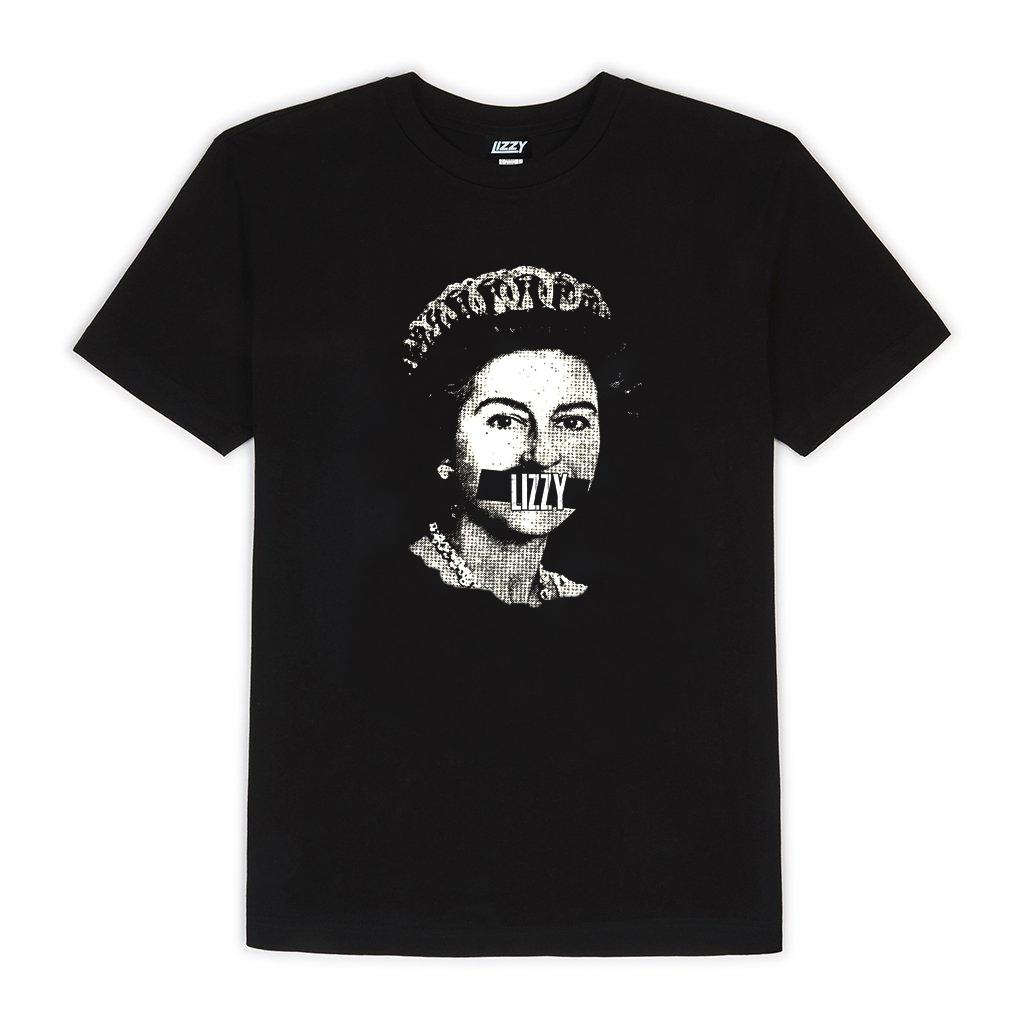 Classic Queen Face Tee - Black/White
