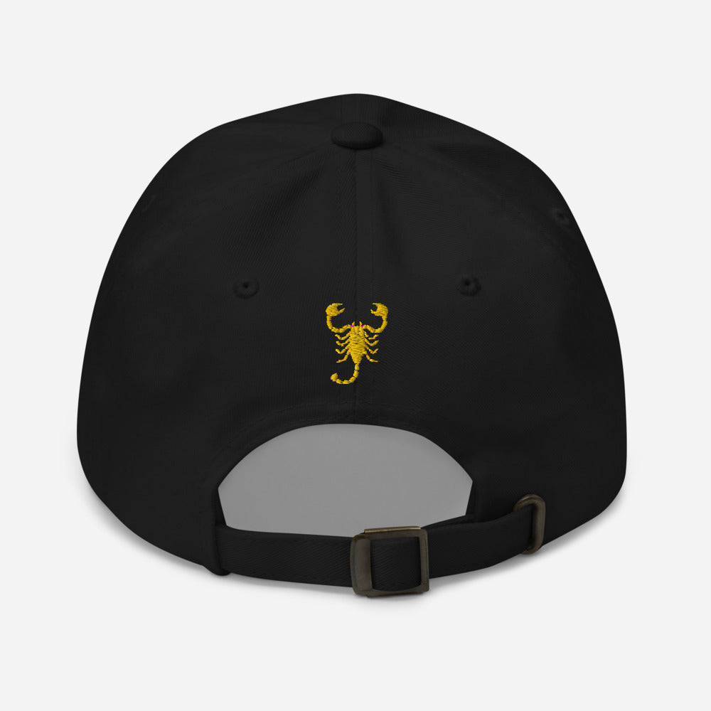 "Embroidered ""Carlo Abarth Signature"" 6-panel, low-profile Dad hat"