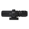 2-6x32 Compact Scope with Integrated Red Laser/Dual Illuminated Reticle/Black