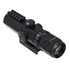 2-6x32 Compact Scope with Top Rail/Dual Illuminated Reticle/Black