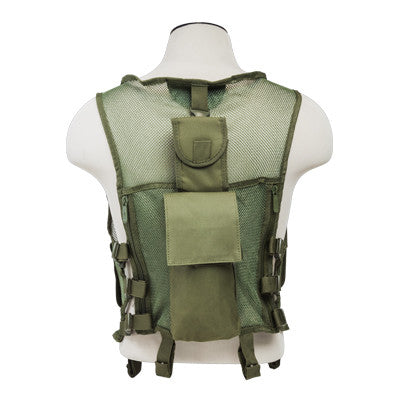 Mesh Tactical Vest - Green