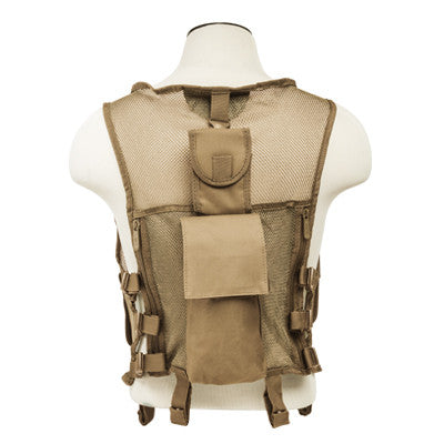 Mesh Tactical Vest - Tan