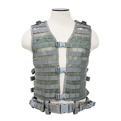 PAL/MOLLE Modular Vest - Larger -Digital Camo