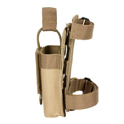 Single Mag Pouch With Stock Adapter - Tan
