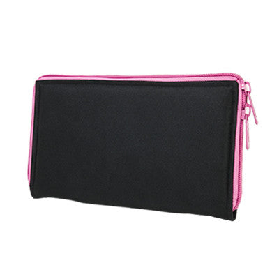 Pistol Case Range Bag Insert - Black with Pink