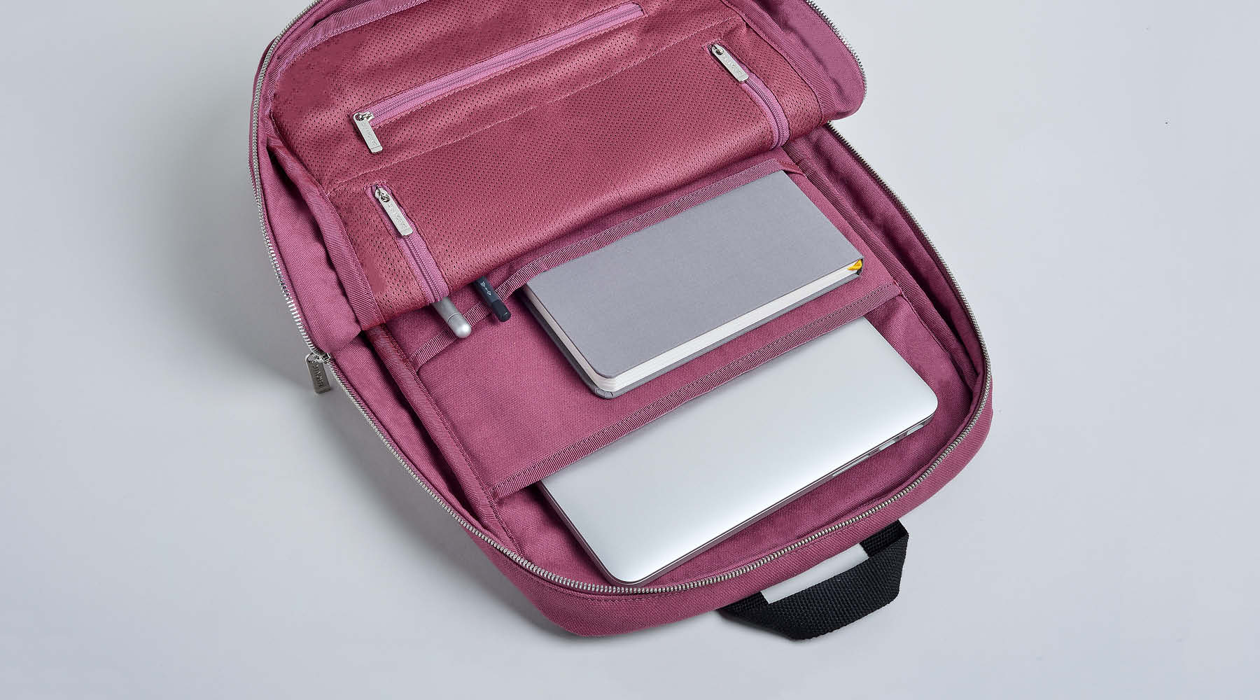 Slimline Backpack internal shot