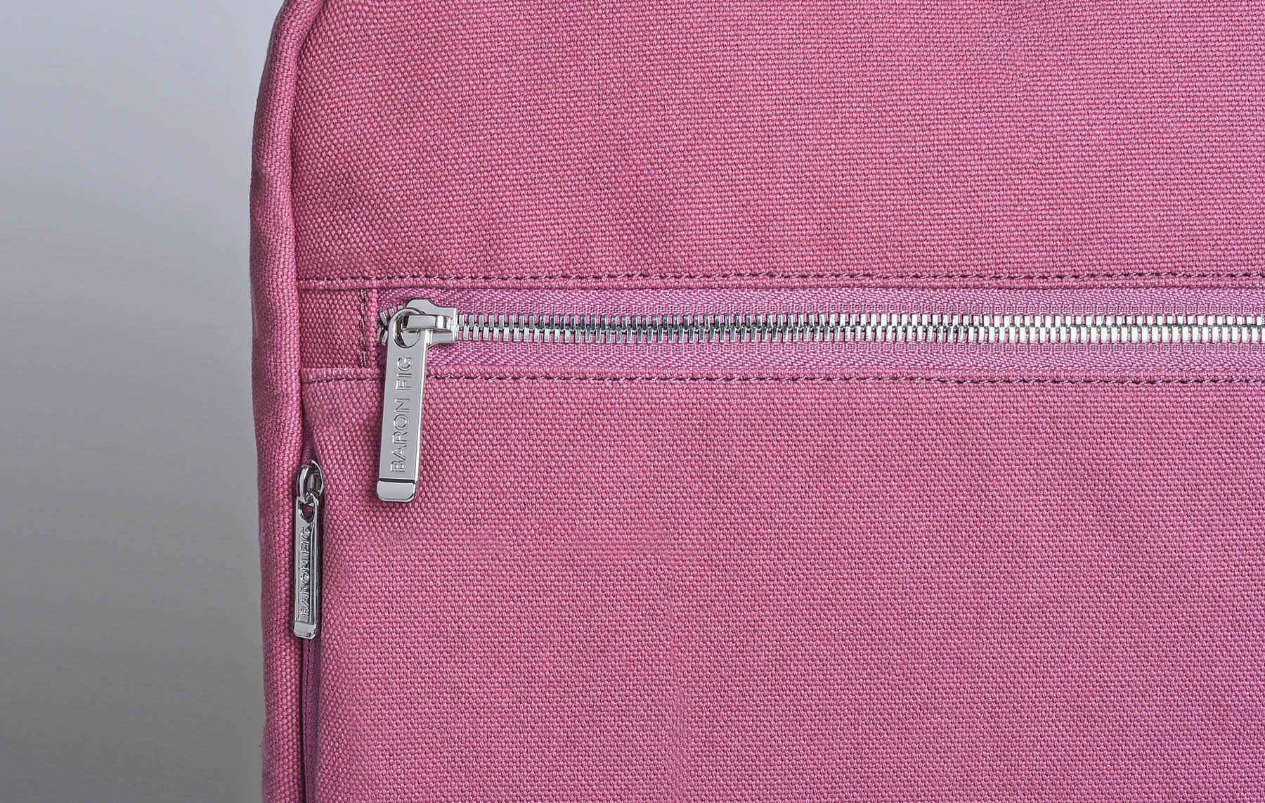 Close up of Slimline backpack hardware