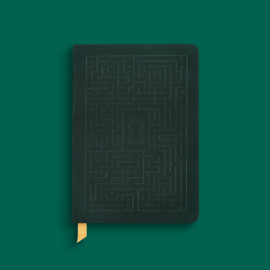 lock hardcover notebook