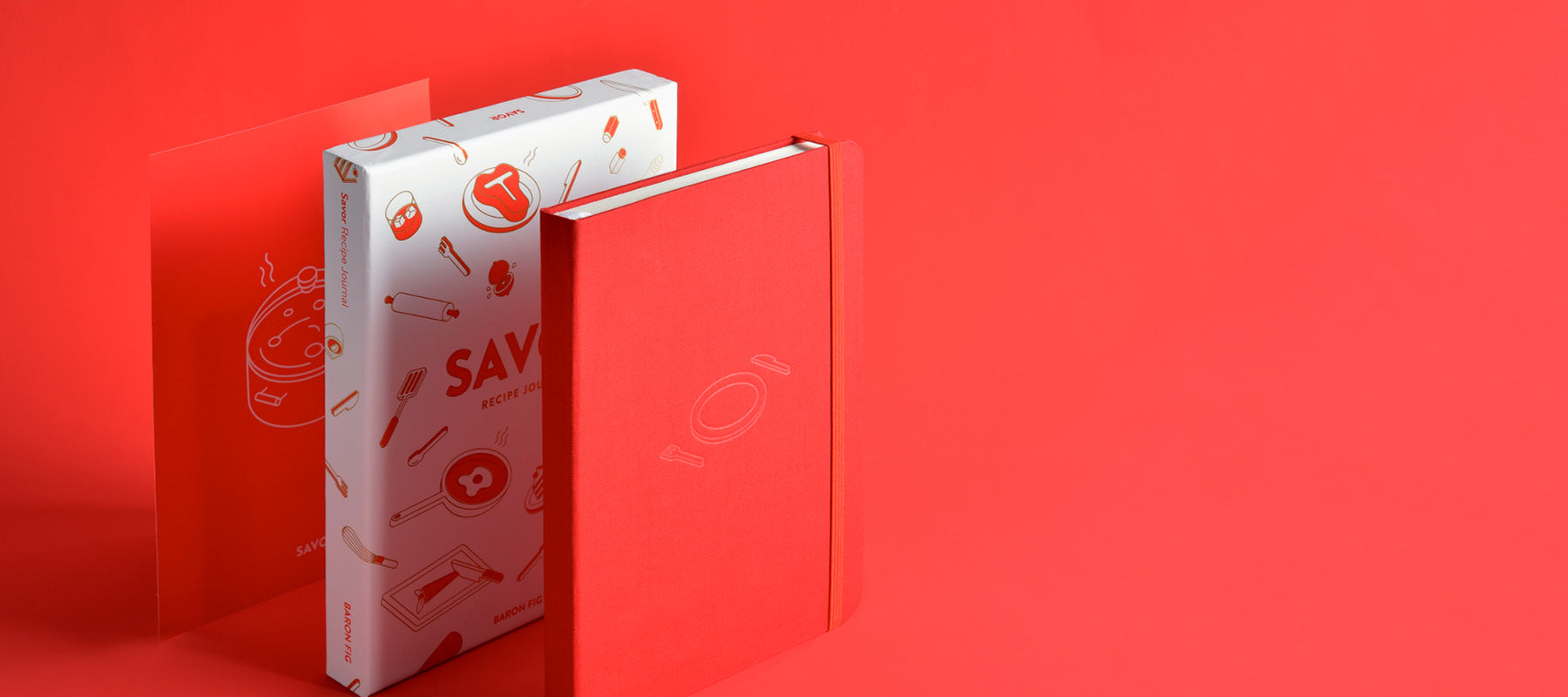 Savor journal, box, box insert