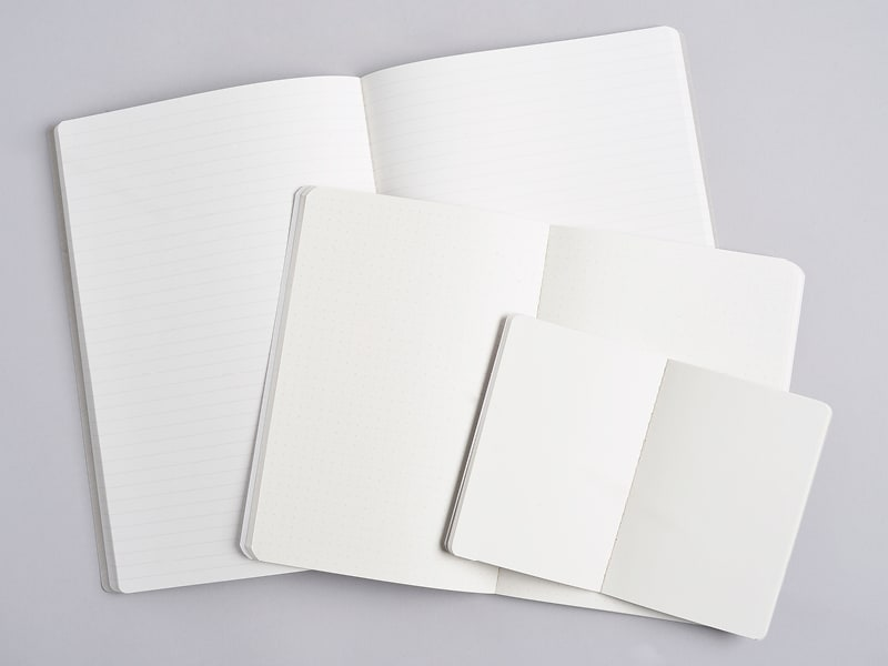 Image showing blank, ruled, and dot grid paper