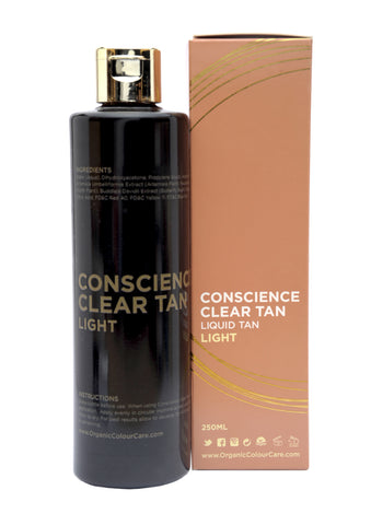 Conscience Clear Tan Light