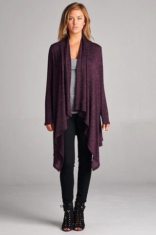 Raine Draped Cardigan