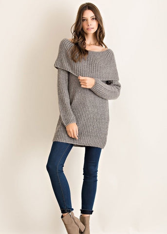 Gabby Off Shoulder Sweater