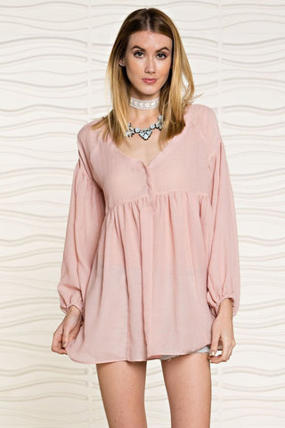 Brinkley Blush Top