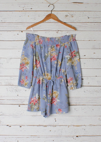 Bella Off Shoulder Romper