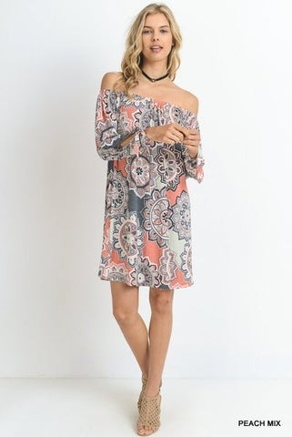 Sheenan Off Shoulder Dress