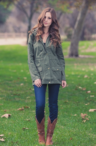 Kimberly Cargo Jacket