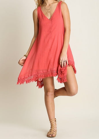 Poppy Fringe Dress