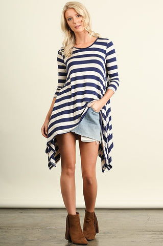 Jeannie Striped Tunic