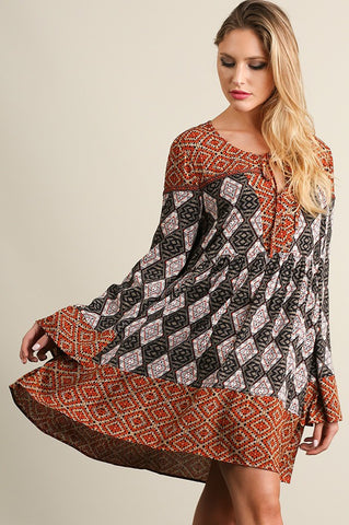 Sunset Boho Dress