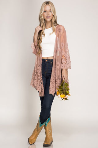 Meica Lace Cardigan