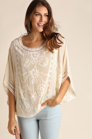 Jovie Embroidered Top