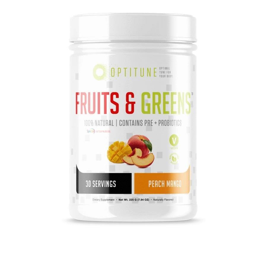 Optitune Fruits & Greens - NextGen Nutrition