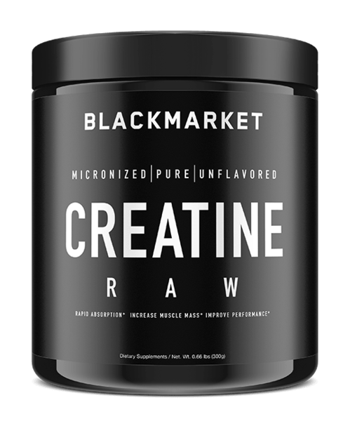 BlackMarket Creatine - NextGen Nutrition