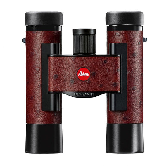 Leica 10x25 Compact Binocular - Ostrich Leather Edition