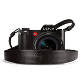 Leica Wide Camera Strap - black leather