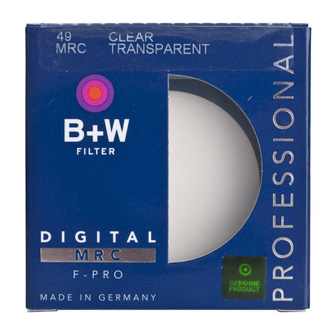 B+W 49mm F-Pro 007M Clear Filter MRC