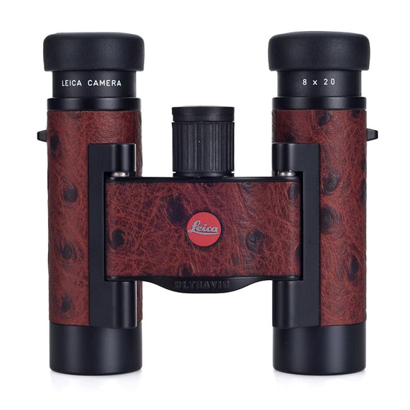 Leica 8x20 Compact Binocular - Ostrich Leather Edition
