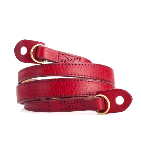 Artisan & Artist* ACAM 276 Leather Strap - Red