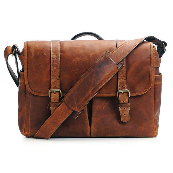 ONA Brixton Camera Messenger Bag - Antique Cognac Leather
