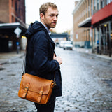 Leica Collection by ONA, Berlin M-System Leather Camera Bag - Vintage Bourbon