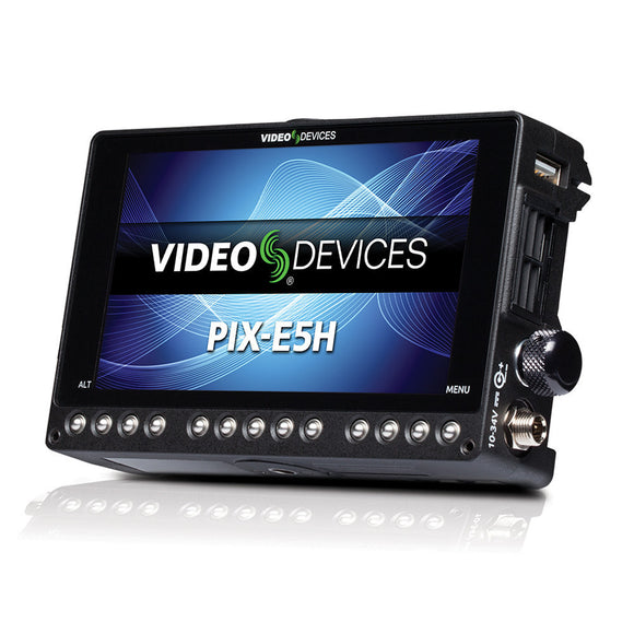 Video Devices PIX-E5H - 5-inch 4K Video Recording Monitor (HDMI only)
