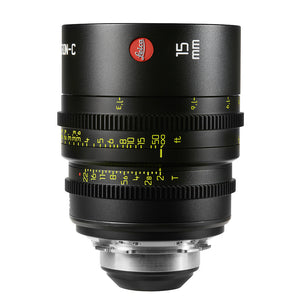 Leica Summicron-C 15mm T2.0 - PL Mount (Markings in Feet)