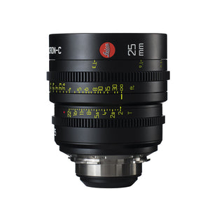 Leica Summicron-C 25mm T2.0 - PL Mount (Markings in Feet)
