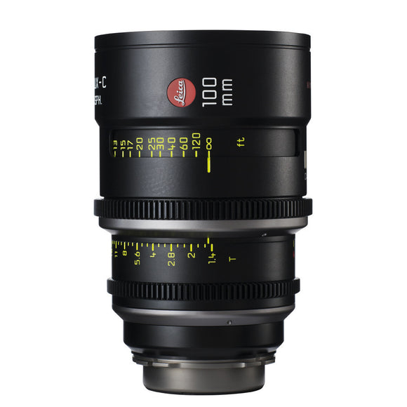 Leica Summilux-C 100mm T1.4 - PL Mount (Markings in Feet)