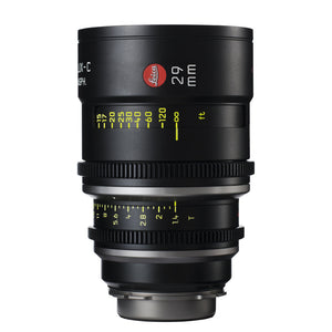 Leica Summilux-C 29mm T1.4 - PL Mount (Markings in Feet)