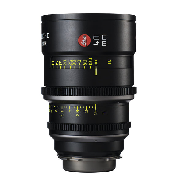 Leica Summilux-C 40mm T1.4 - PL Mount (Markings in Feet)