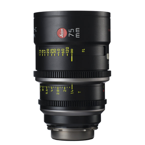 Leica Summilux-C 75mm T1.4 - PL Mount (Markings in Feet)