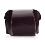 Leica Ever ready case Box calf leather dark brown