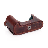 Arte di Mano Half Case for Leica M (Typ 240) and Multifunction Handgrip with Fingerloop Cutout and Back Flap - Rally Volpe