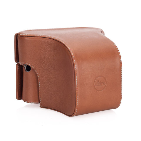 Leica Ever-ready case w/Large Front Cognac for M typ 240