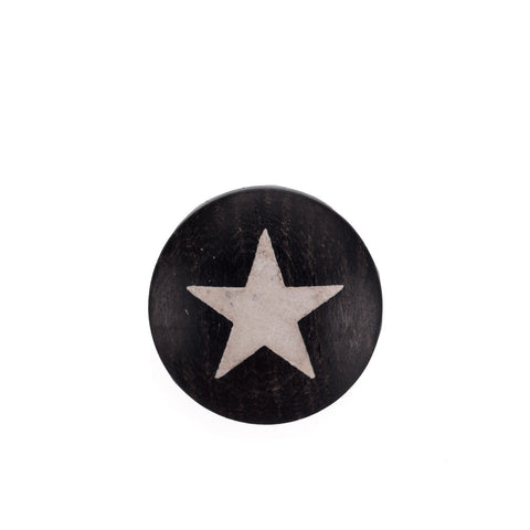 Artisan Obscura Star, Large Convex Soft Release, Ebony