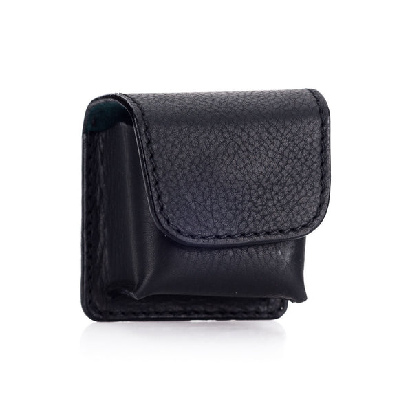 Arte di Mano Leather Pouch for Leica EVF2 - Minerva Black with Black Stitching