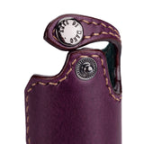 Arte di Mano Leica Q (Typ 116) Half Case with Battery Access Door - Buttero Purple