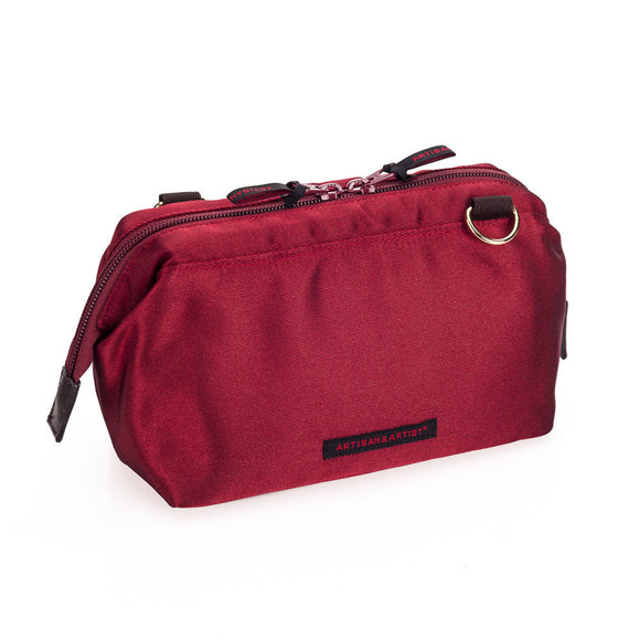 Artisan & Artist* 3WC-PR012 Wine Red Canvas Bag